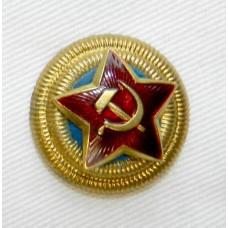 Звезда-кокарда к головным уборам генералов авиации Красной Армии образца 1940 г.