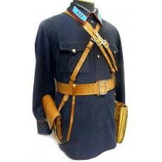 Вариант комплектации снаряжения для начсостава РКМ при форме одежды образца 1940 года.
